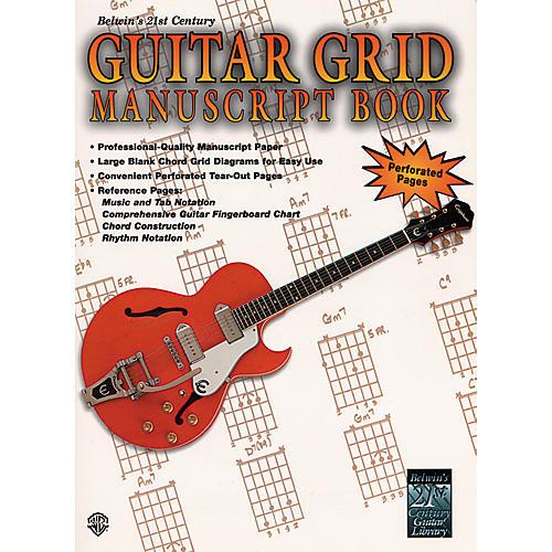 Alfred Guitar Grid Manuscript Book-thumbnail