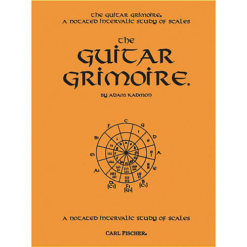 Carl Fischer Guitar Grimoire - A Notated Intervallic Study of Scale thumbnail