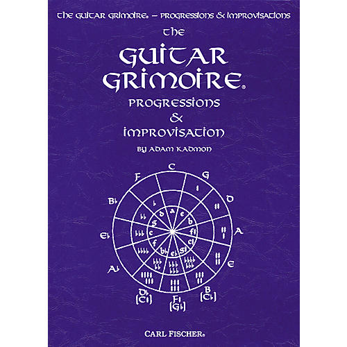 Carl Fischer Guitar Grimoire - Progressions and Improvisations Book thumbnail