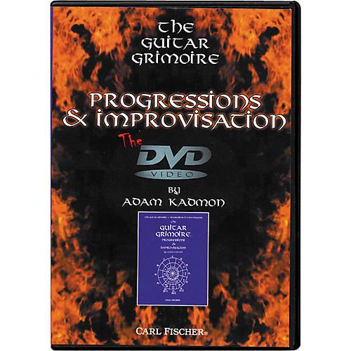 Carl Fischer Guitar Grimoire Vol. 3 Progressions and Improvisations DVD-thumbnail