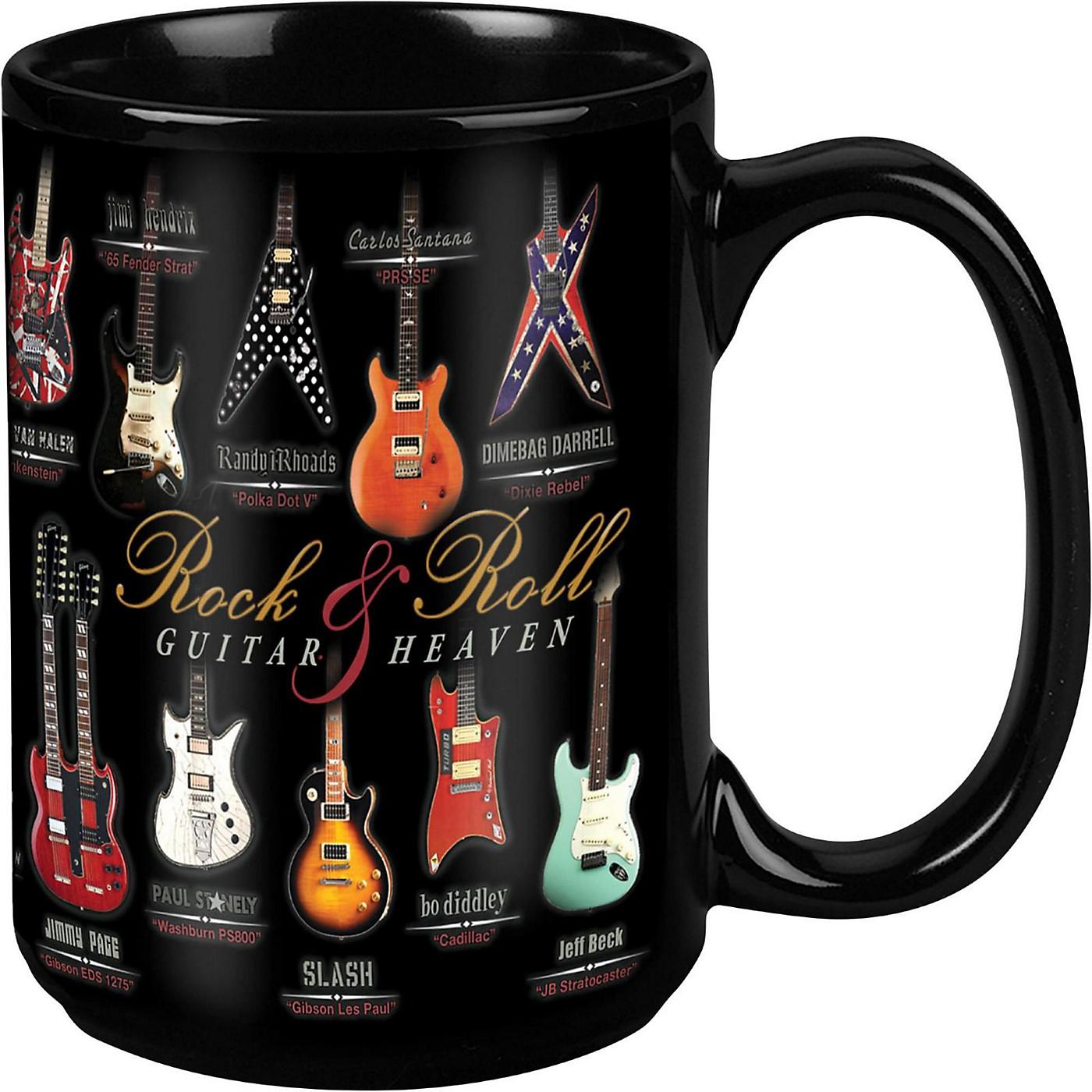 Taboo Guitar Heaven Black Mug 15 oz thumbnail