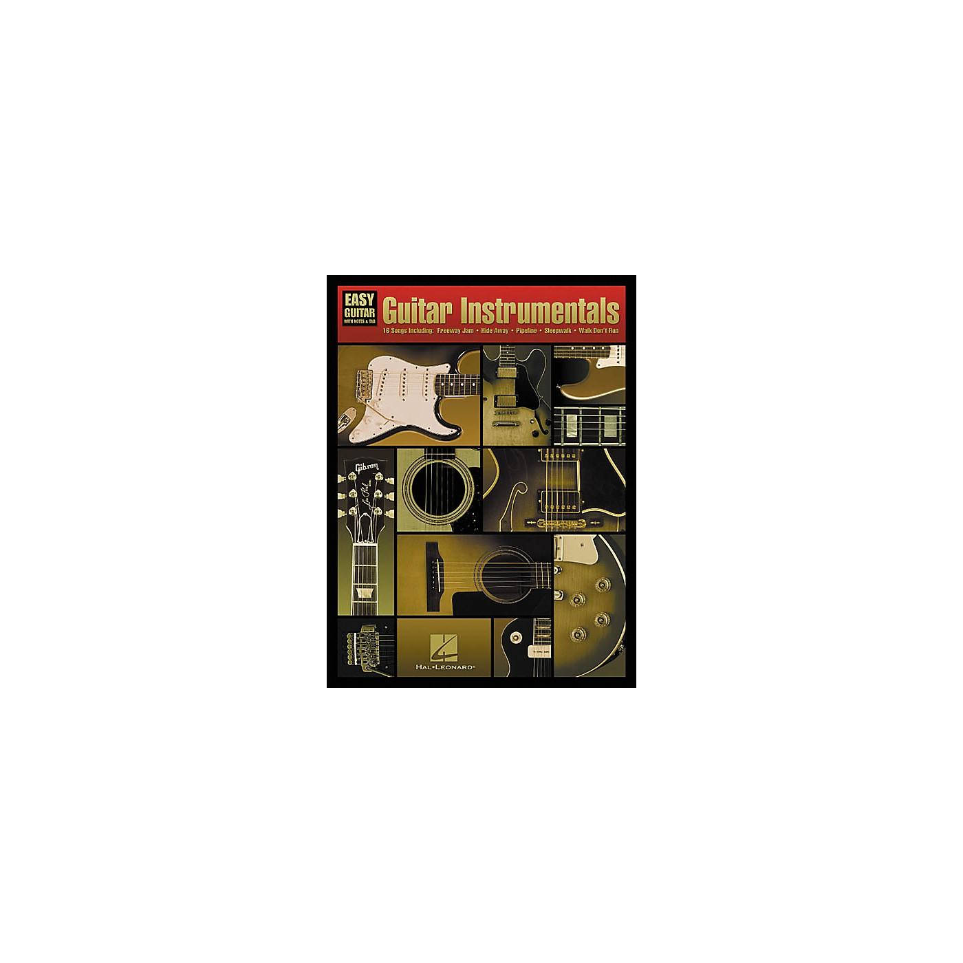 Hal Leonard Guitar Instrumentals For Easy Guitar Book thumbnail
