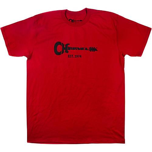 Charvel Guitar Logo Red T-Shirt thumbnail