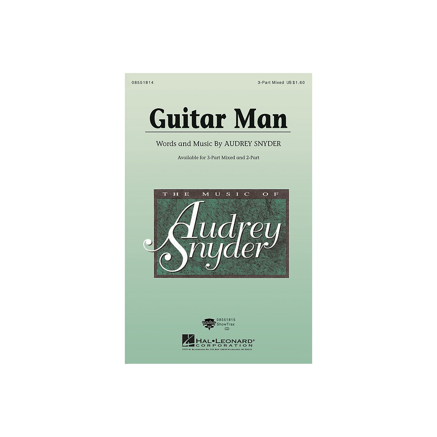 Hal Leonard Guitar Man ShowTrax CD Composed by Audrey Snyder thumbnail
