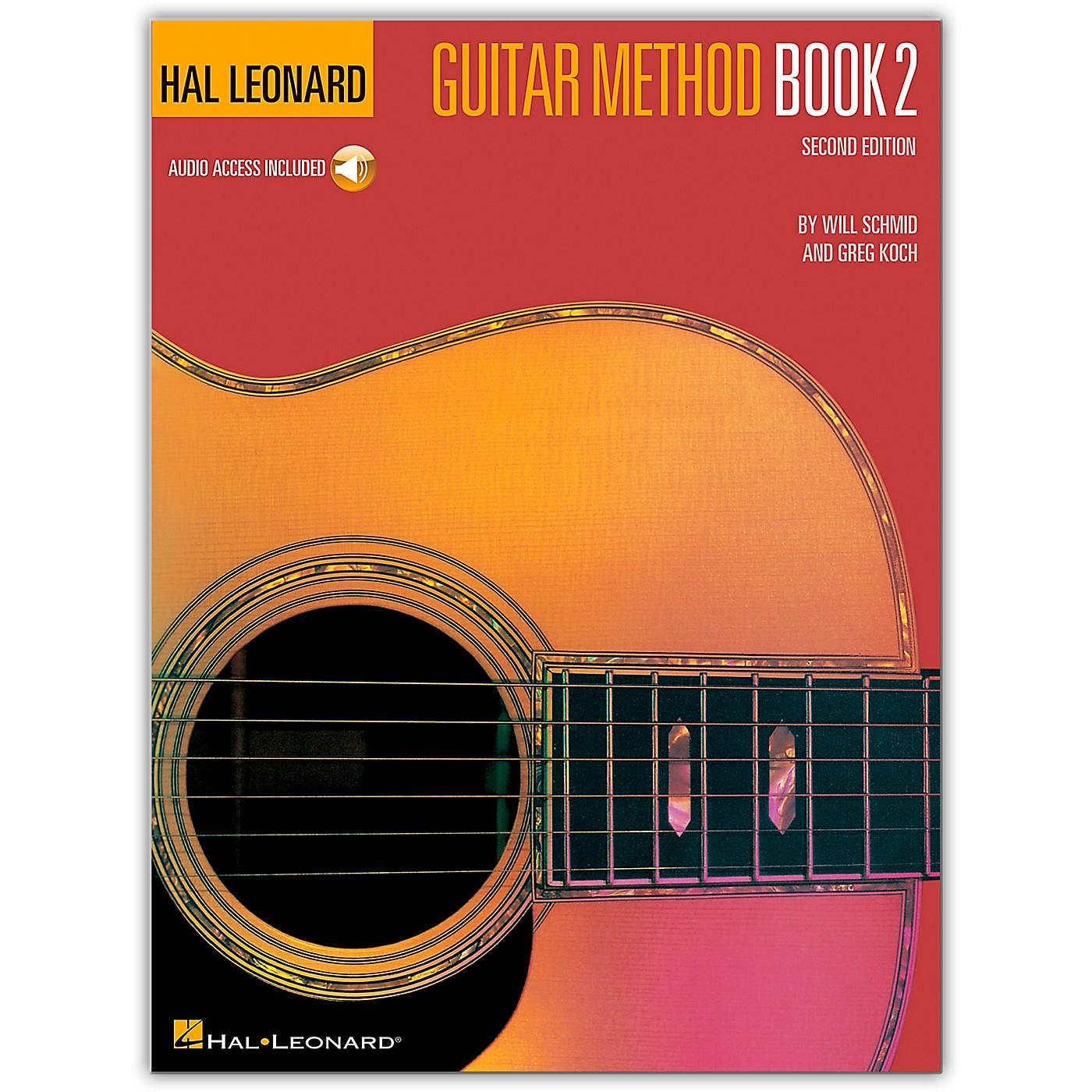 Hal Leonard Guitar Method - Book 2 Book/CD thumbnail