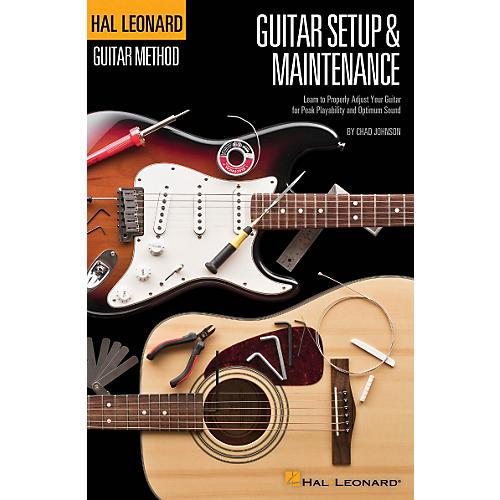 Hal Leonard Guitar Method - Guitar Setup & Maintenance in Full Color thumbnail