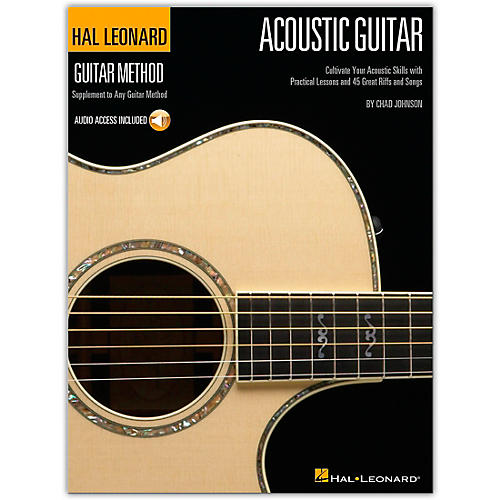 Hal Leonard Guitar Method Acoustic Guitar (Book/Online Audio) thumbnail