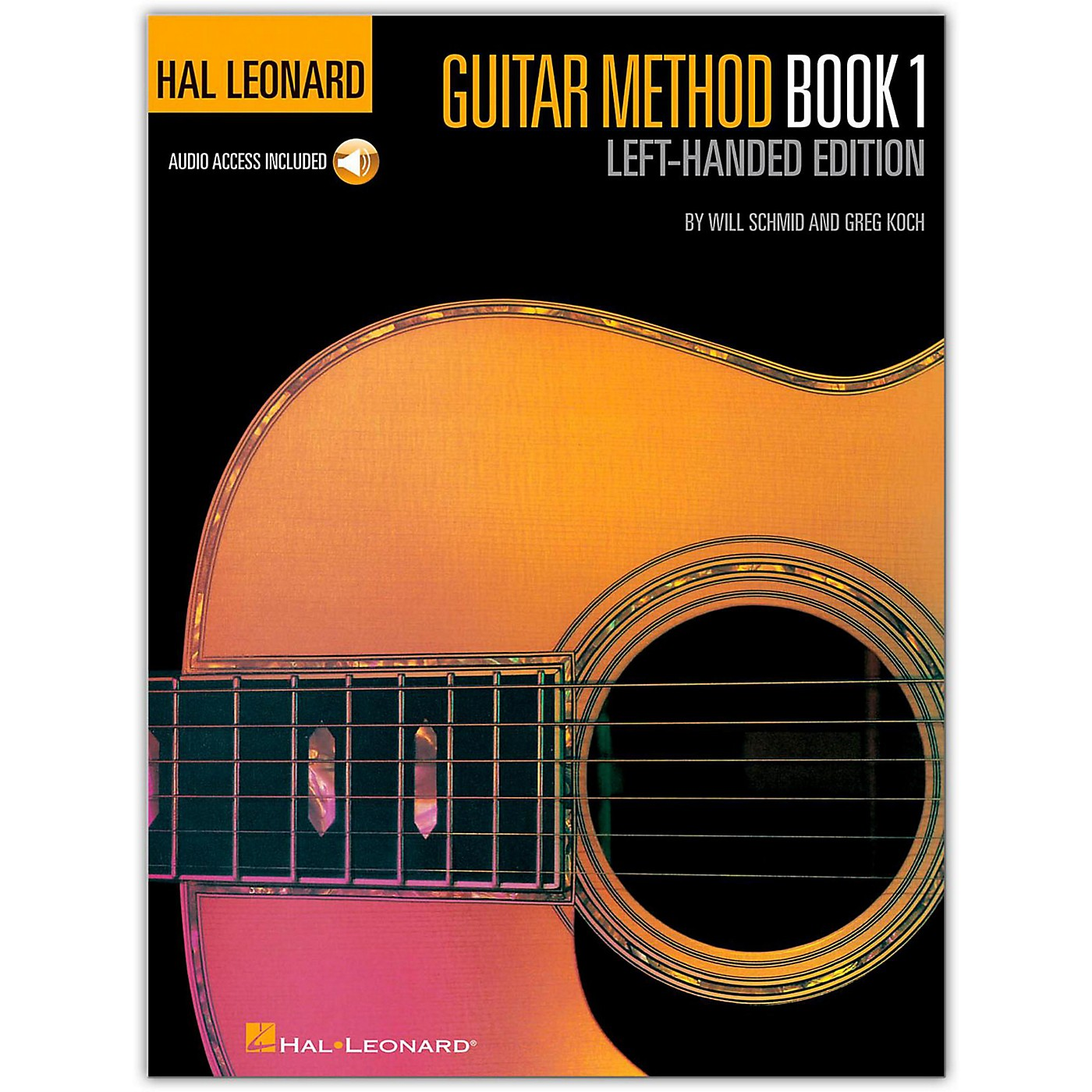 Hal Leonard Guitar Method Book 1 Left-Handed Edition (Book/Online Audio) thumbnail