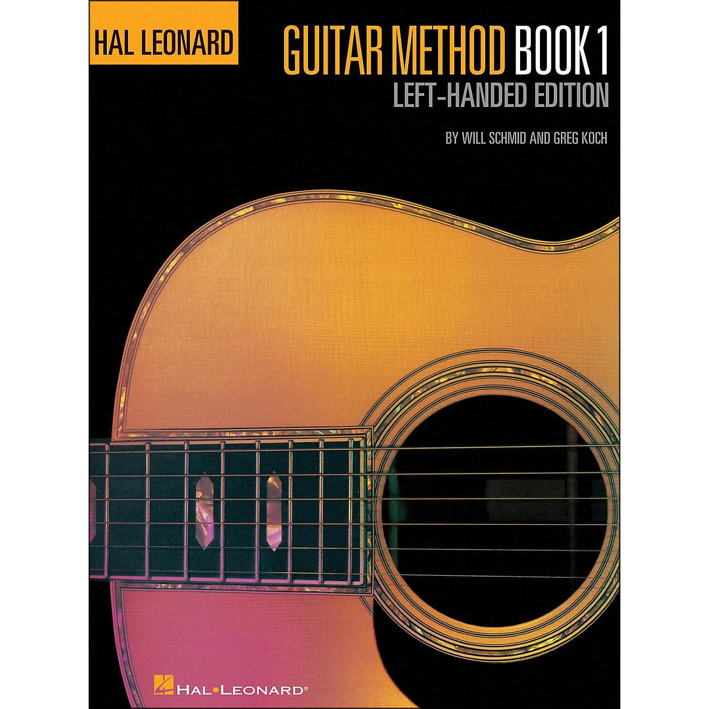 Hal Leonard Guitar Method Book 1 Left Handed Edition thumbnail