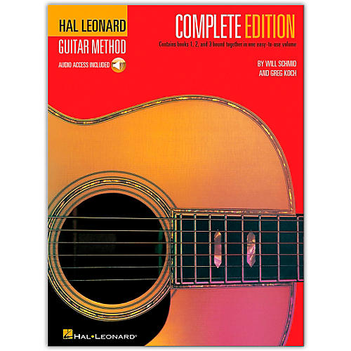 Hal Leonard Guitar Method Complete Edition (Book/CD)-thumbnail