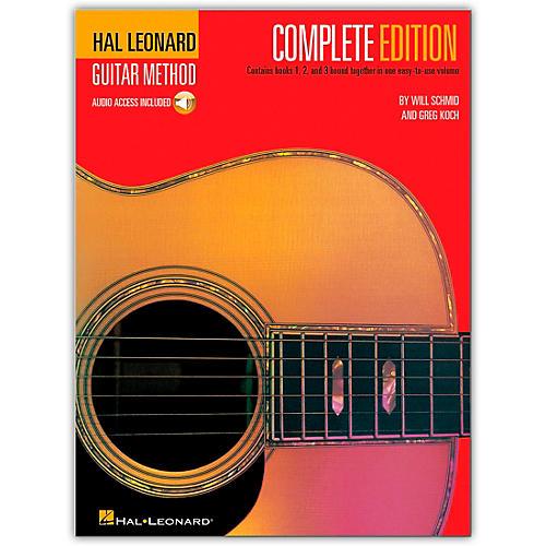 Hal Leonard Guitar Method Complete Edition (Book/Online Audio) thumbnail