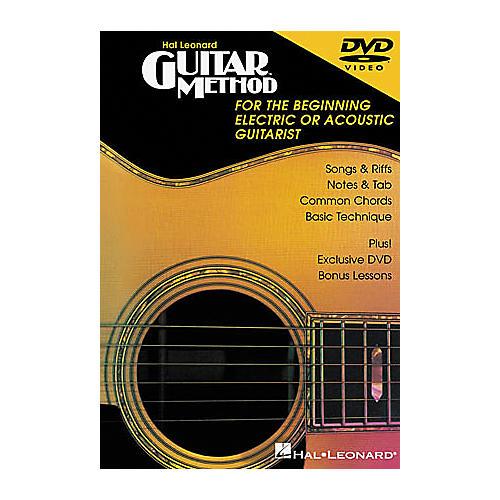 Hal Leonard Guitar Method DVD thumbnail