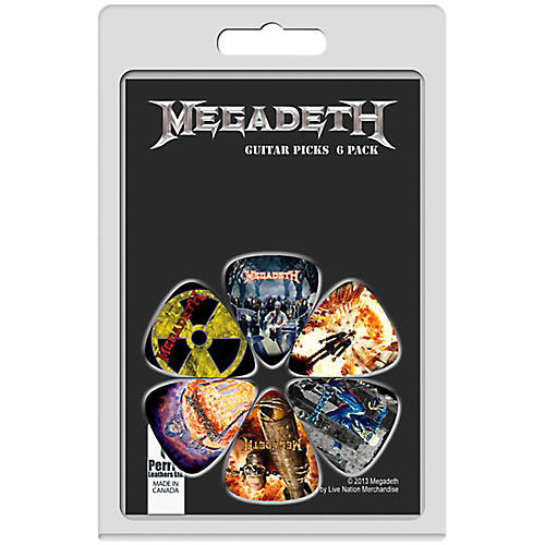 Perri's Guitar Picks - 6-Pack thumbnail