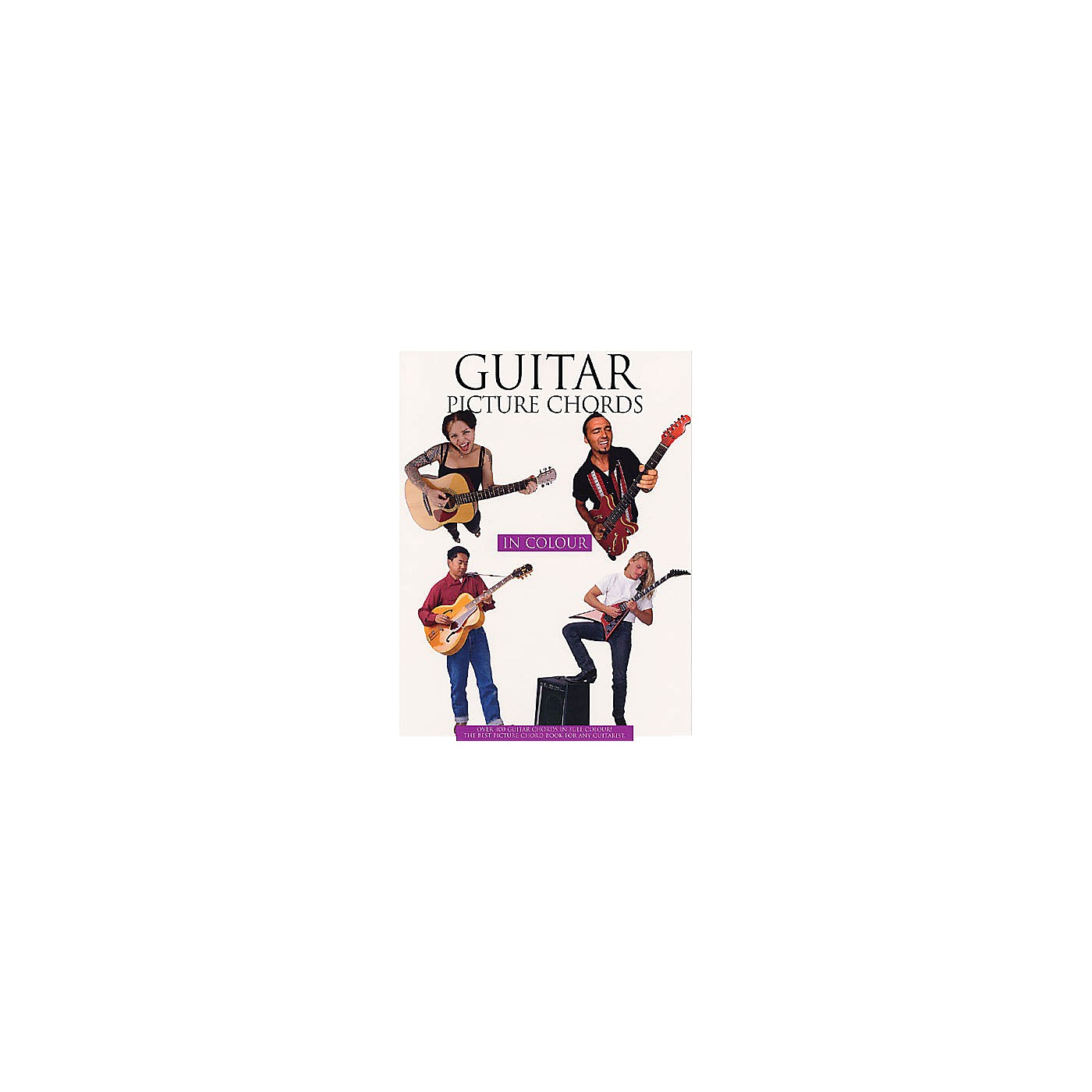 Music Sales Guitar Picture Chords in Color Music Sales America Series Softcover Written by Various Authors thumbnail