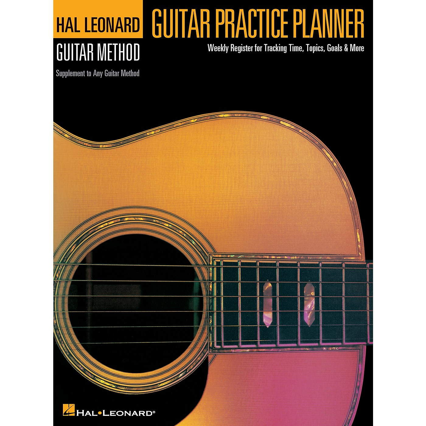 Hal Leonard Guitar Practice Planner Reference Series Softcover Written by Various Authors thumbnail
