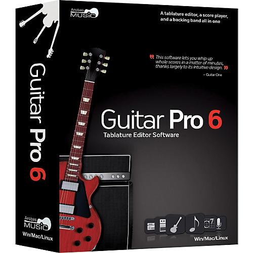Emedia Guitar Pro 6.0 Tablature Editing Software thumbnail