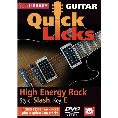 Mel Bay Guitar Quick Licks - Slash Style, High Energy Rock (DVD) thumbnail