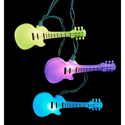 Kurt S. Adler Guitar Set UL 10 Lights thumbnail