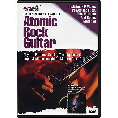 Music Sales Guitar Sherpa Presents Trey Alexander: Atomic Rock Guitar (DVD) thumbnail