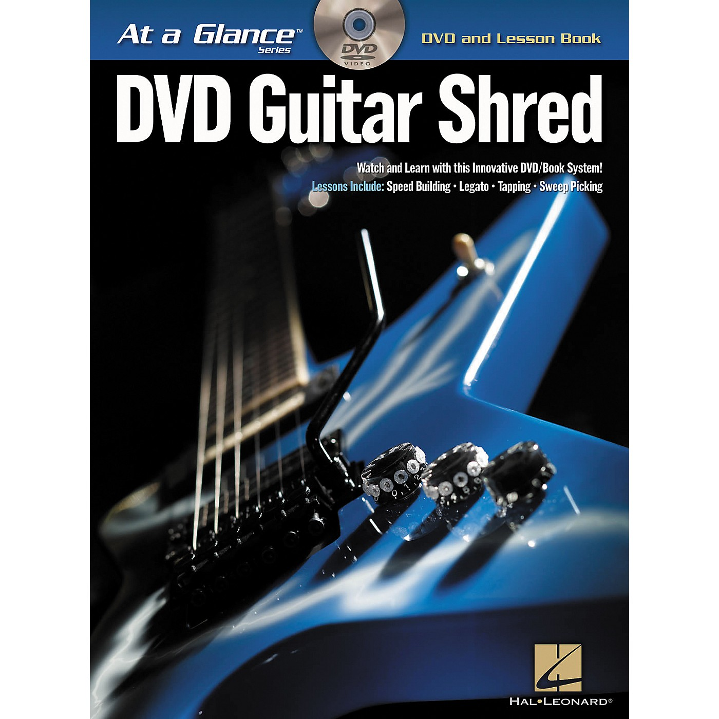 Hal Leonard Guitar Shred At a Glance Series (Book/DVD) thumbnail