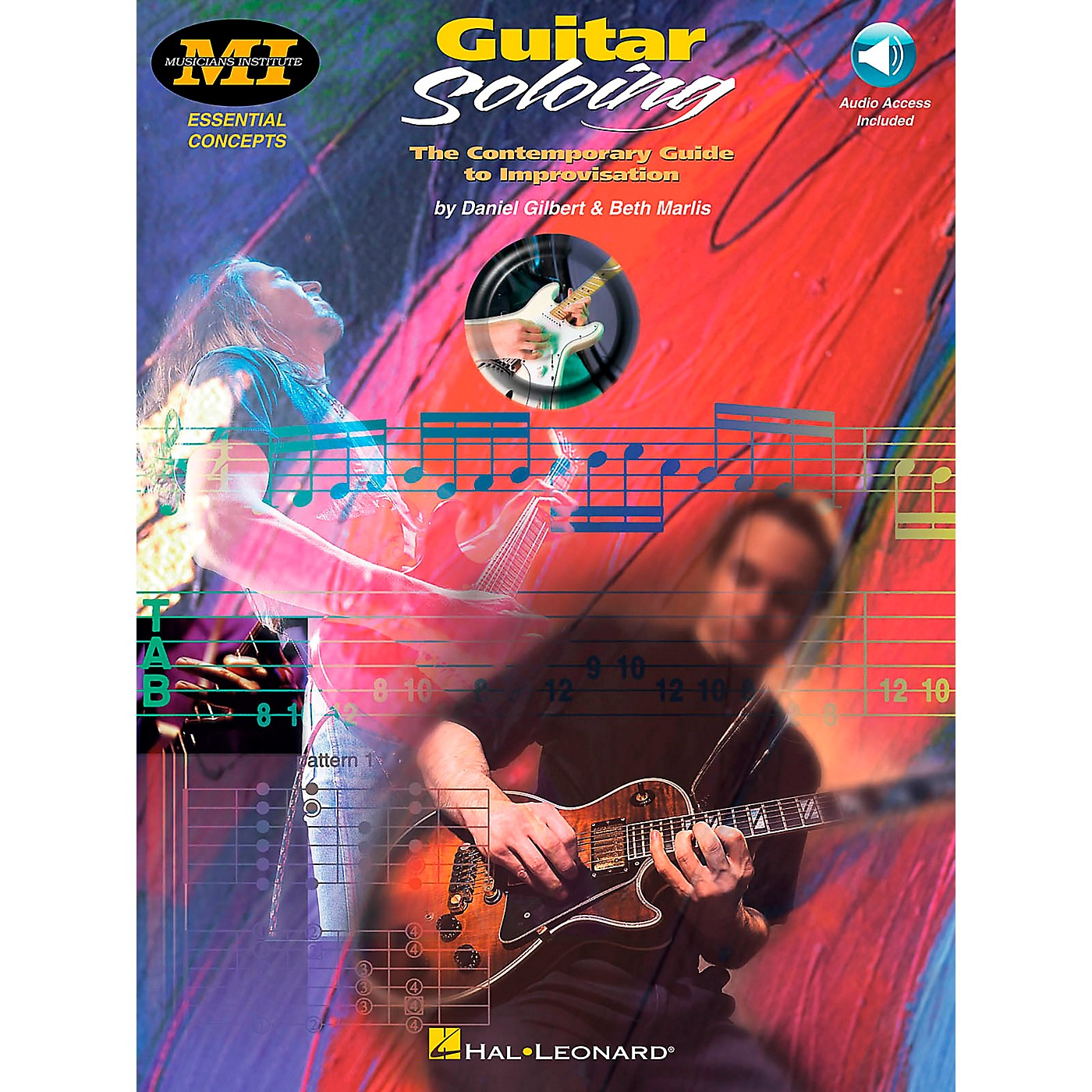 Hal Leonard Guitar Soloing Book/CD thumbnail