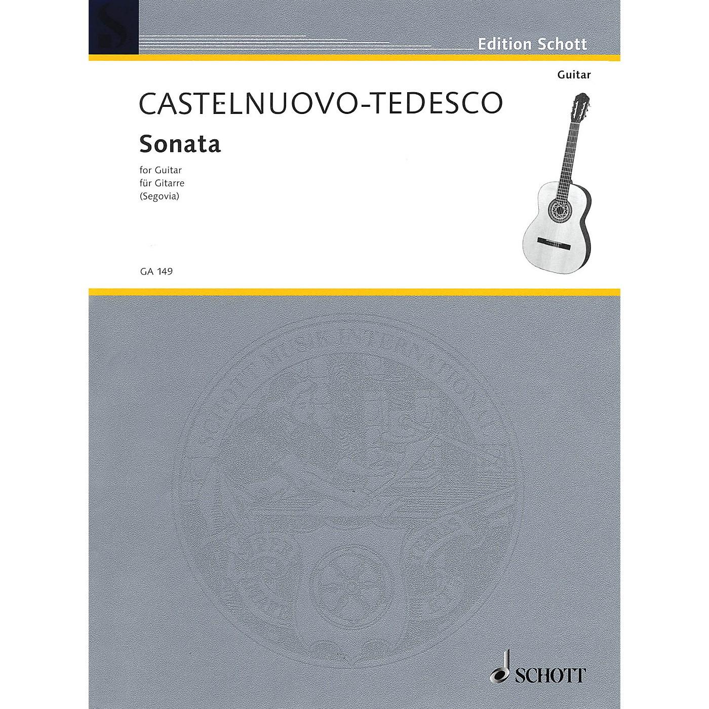 Schott Guitar Sonata (Hommage to Boccherin) Schott Series thumbnail