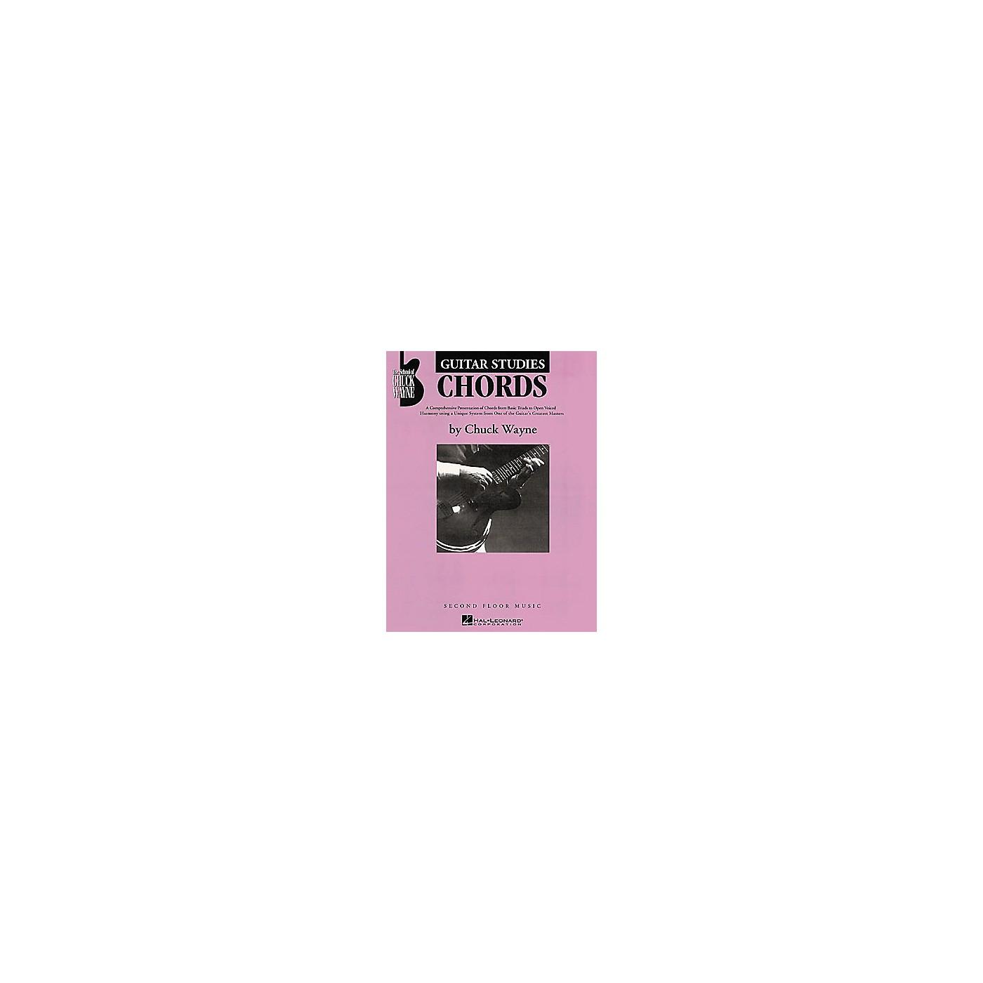 Second Floor Music Guitar Studies - Chords Book by Chuck Wayne thumbnail