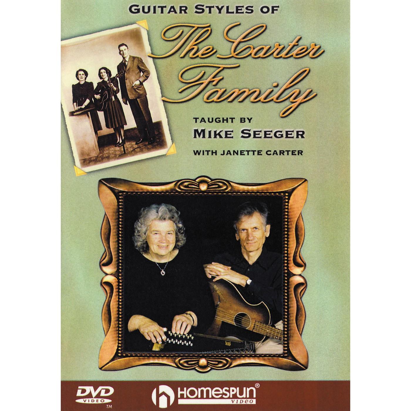 Homespun Guitar Styles of the Carter Family (DVD) thumbnail