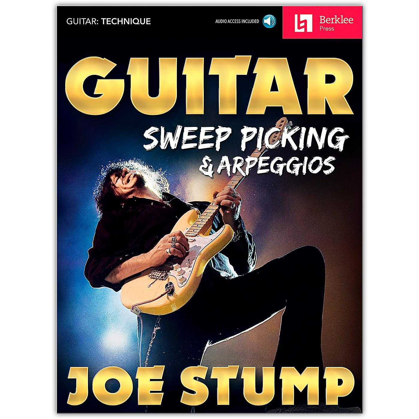 Berklee Press Guitar Sweep Picking & Arpeggios Book/Audio Online thumbnail