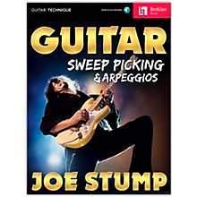 Berklee Press Guitar Sweep Picking & Arpeggios Book/Audio Online