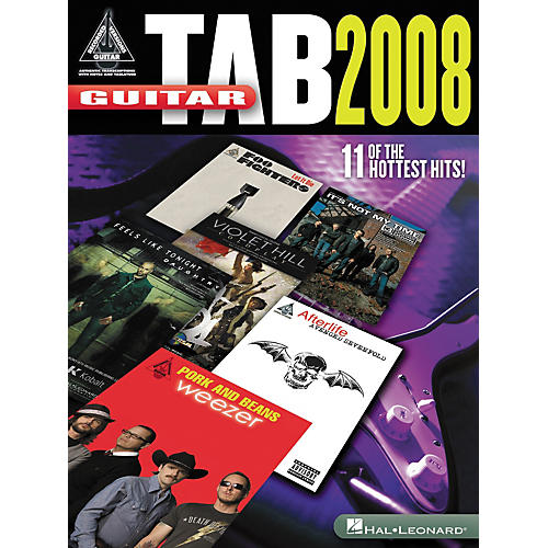 Hal Leonard Guitar Tab 2008 - Guitar Recorded Version Series (Songbook) thumbnail