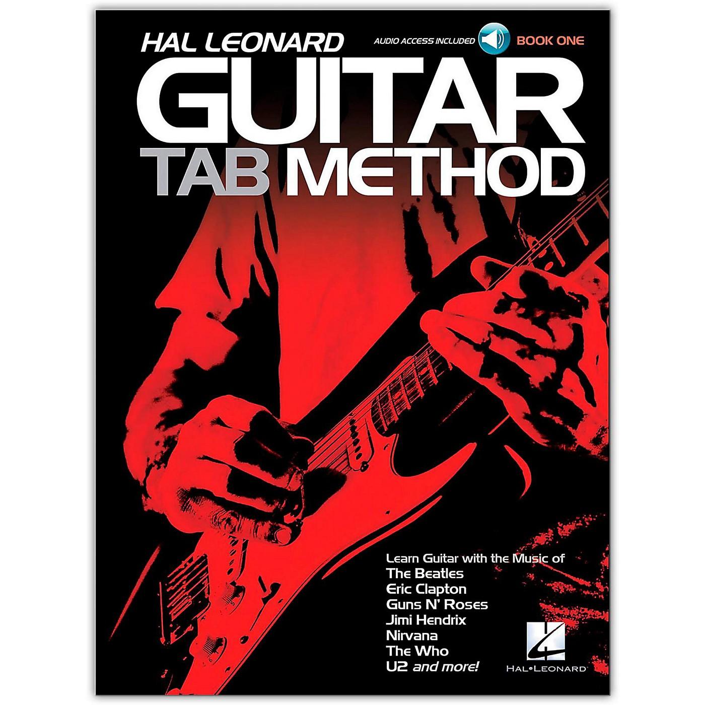 Hal Leonard Guitar Tab Method Book 1 (Book/Online Audio) thumbnail