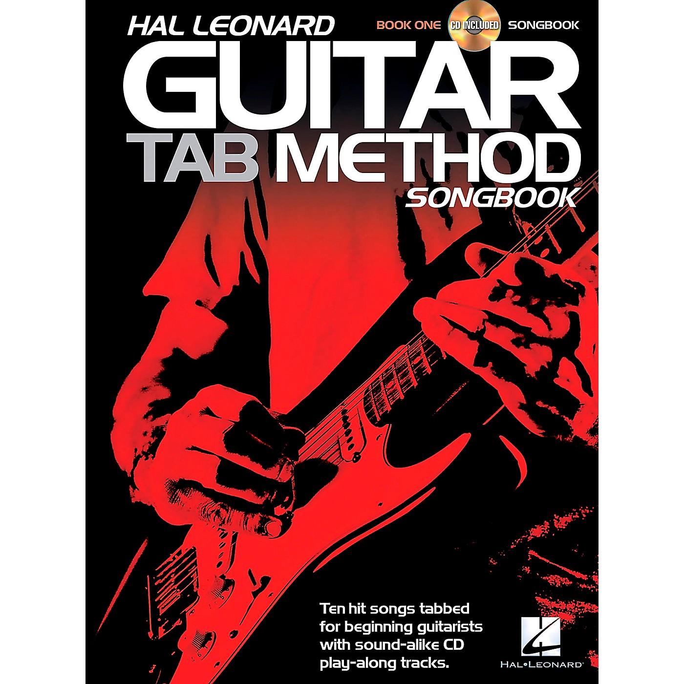 Hal Leonard Guitar Tab Method Songbook 1 Book/CD thumbnail