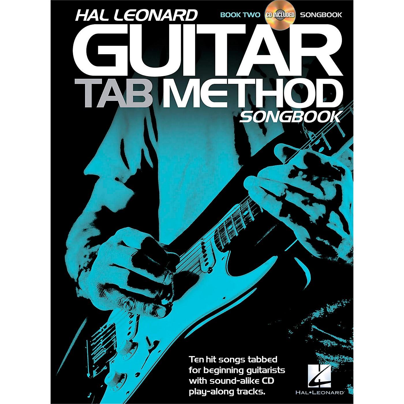 Hal Leonard Guitar Tab Method Songbook 2 Book/CD thumbnail