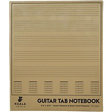 Koala Music Guitar Tab Notebook