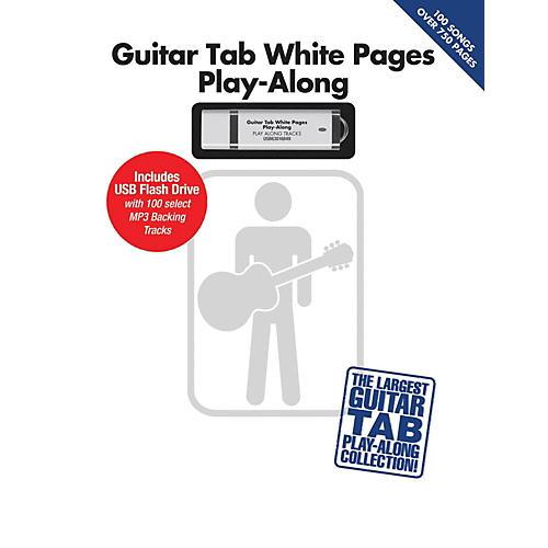Hal Leonard Guitar Tab White Pages Play-Along Book/USB thumbnail
