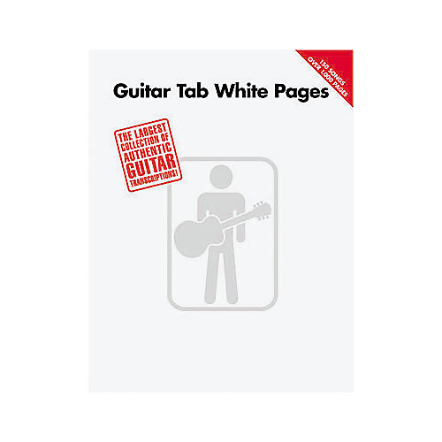Hal Leonard Guitar Tab White Pages Songbook thumbnail