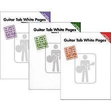 Hal Leonard Guitar Tab White Pages Vol. 1 - 3