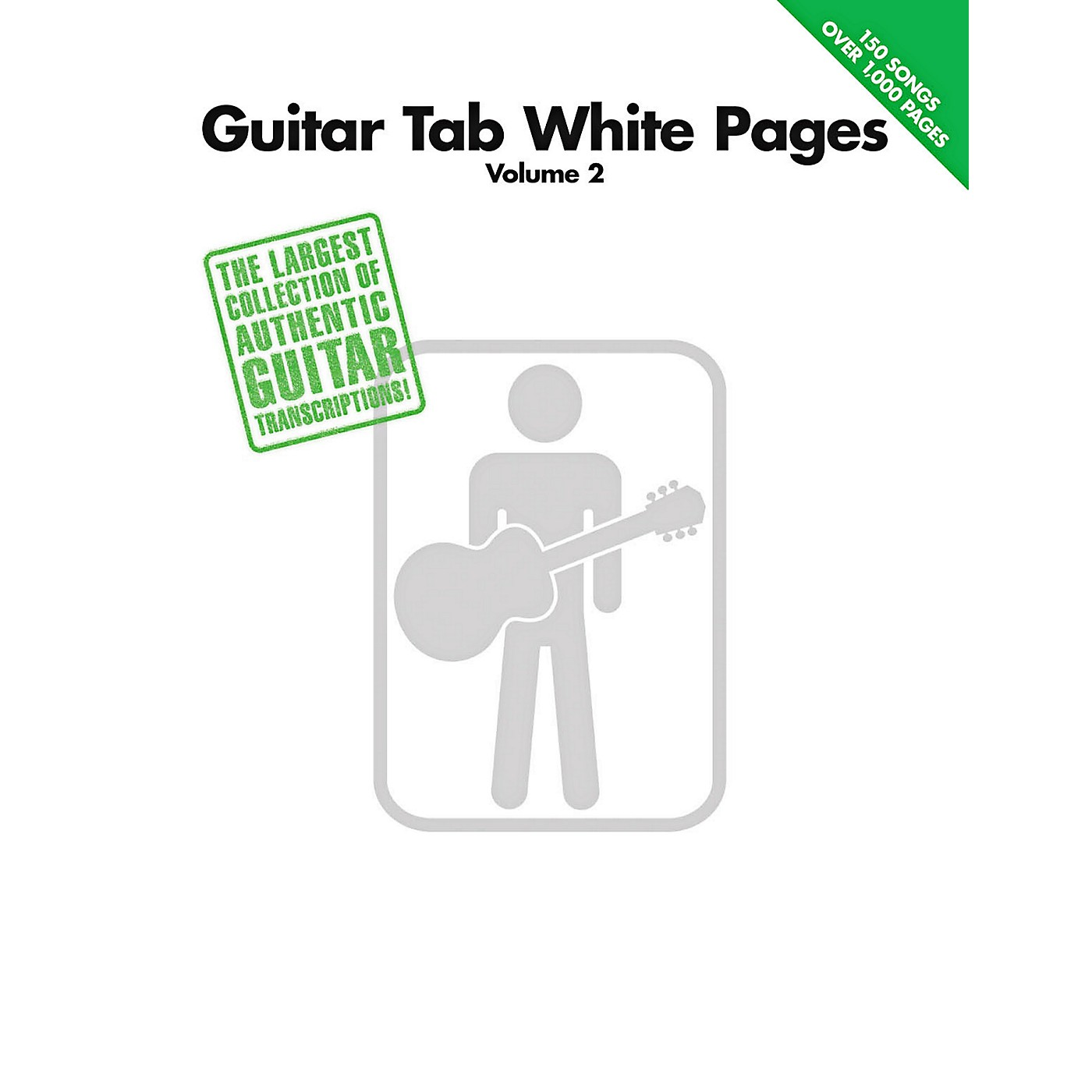 Hal Leonard Guitar Tab White Pages Volume 2 Songbook thumbnail