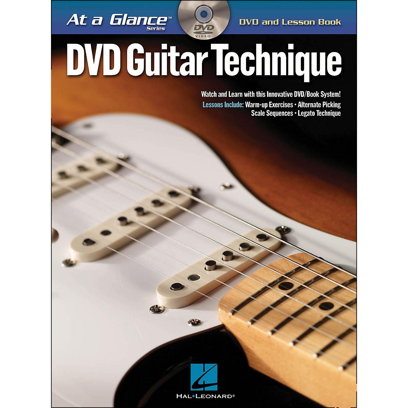 Hal Leonard Guitar Technique - At A Glance (Book/DVD) thumbnail