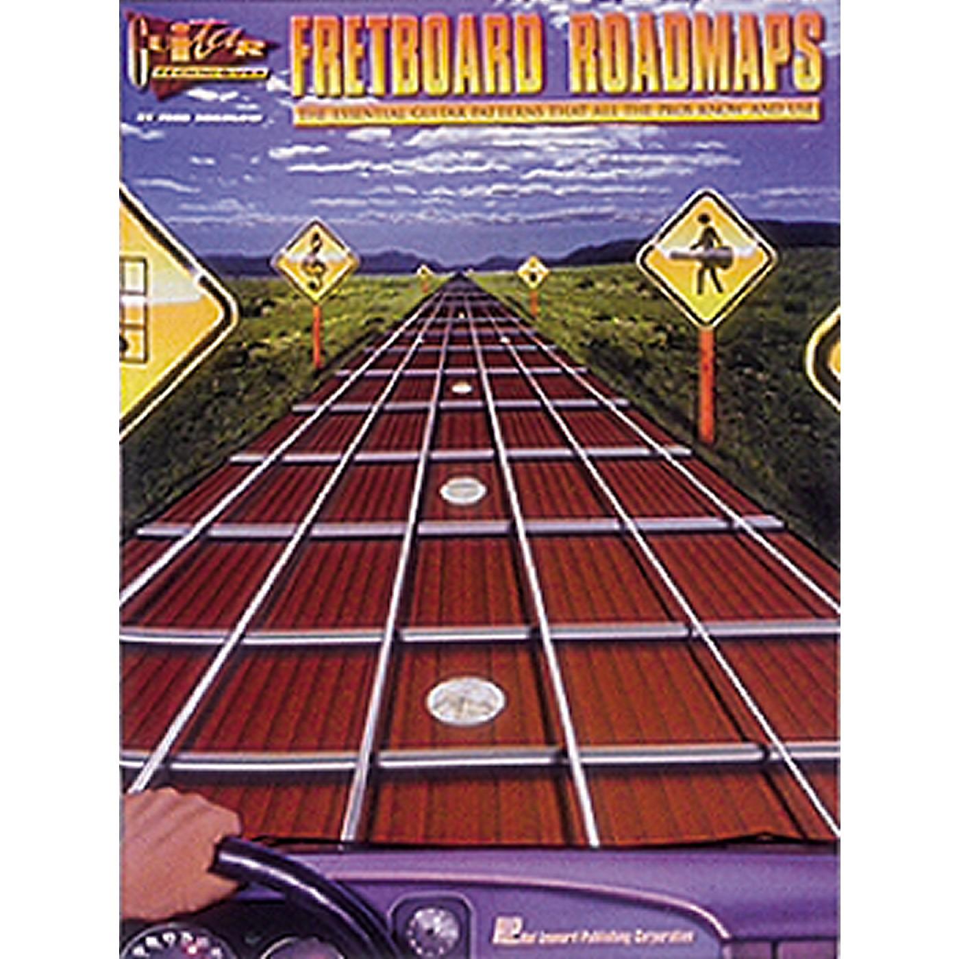 Hal Leonard Guitar Techniques Book - Fretboard Roadmaps thumbnail