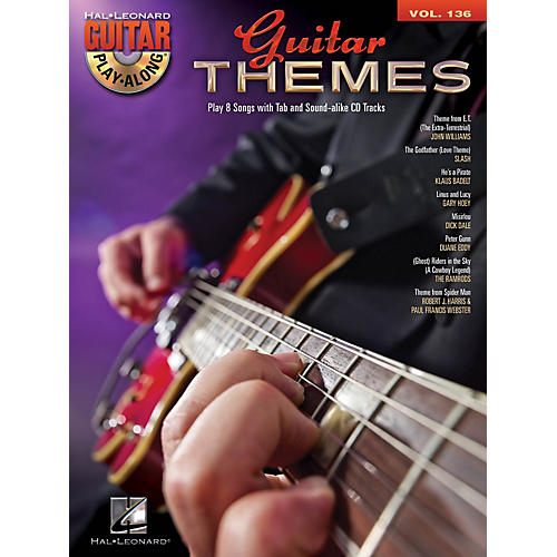 Hal Leonard Guitar Themes (Guitar Play-Along Volume 136) Guitar Play-Along Series Softcover with CD by Various thumbnail
