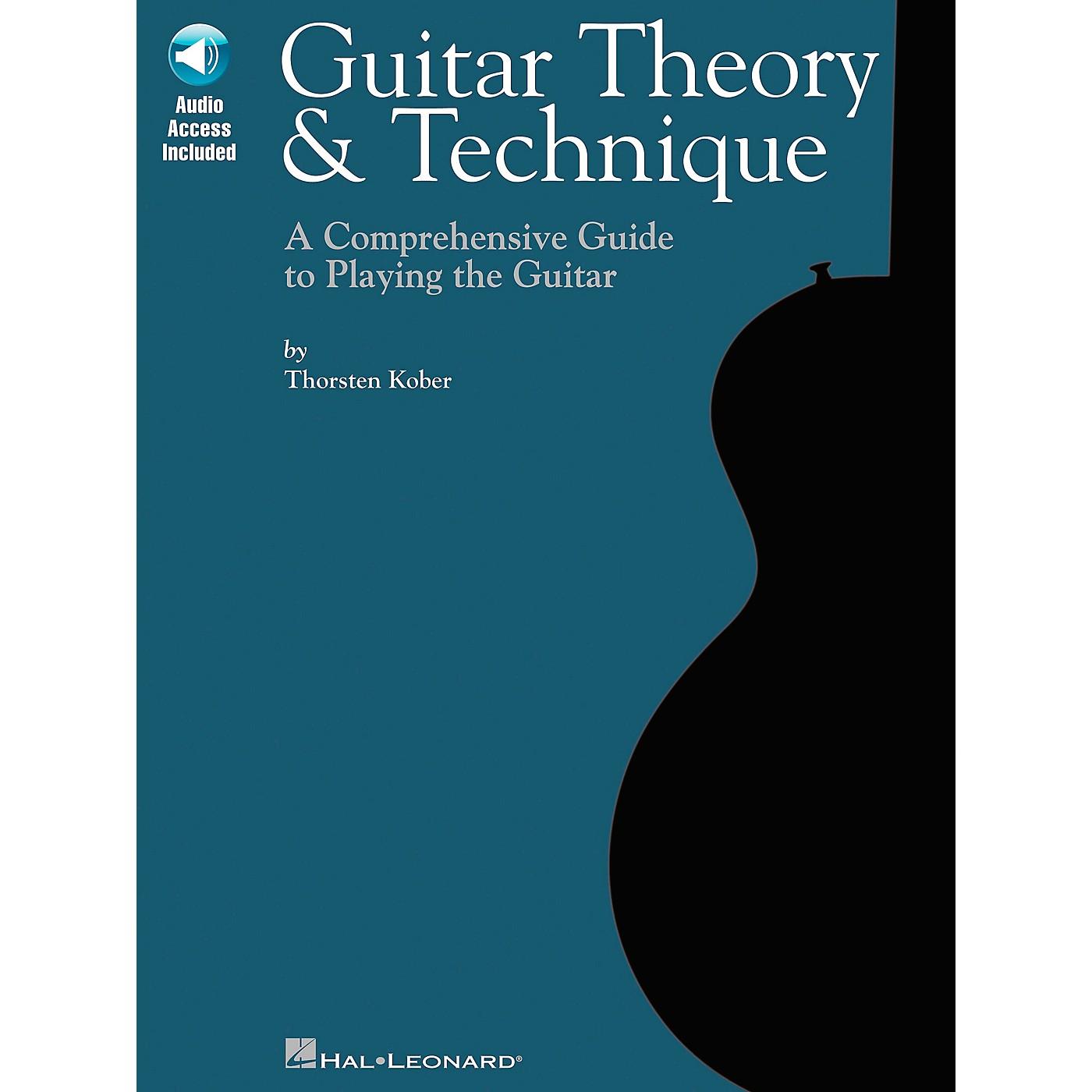 Hal Leonard Guitar Theory & Technique (Book/CD) thumbnail