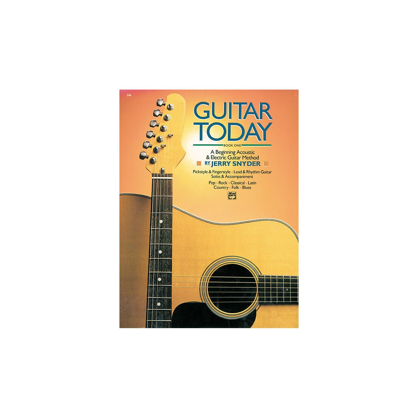 Alfred Guitar Today Book 1 thumbnail