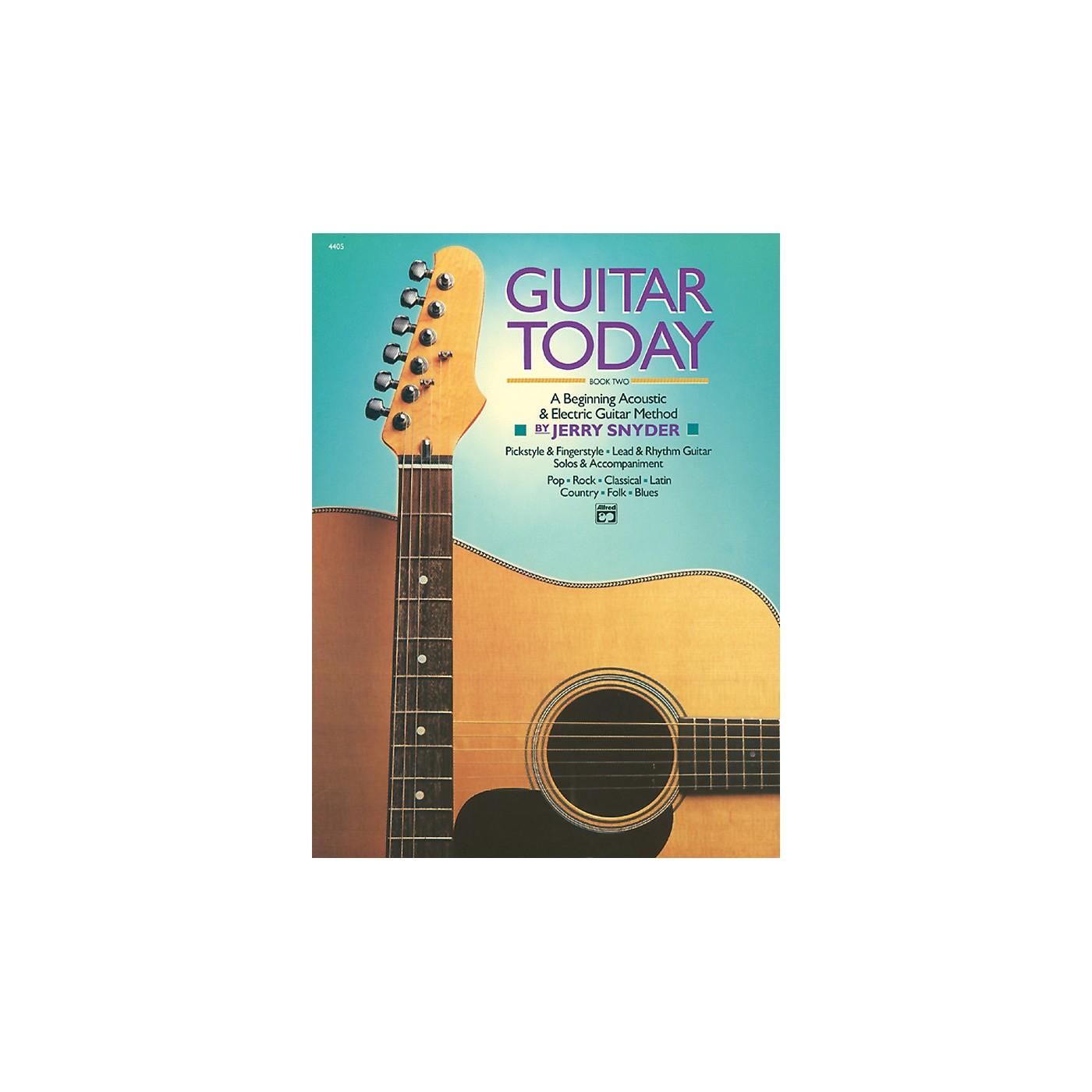 Alfred Guitar Today Book 2 Book thumbnail