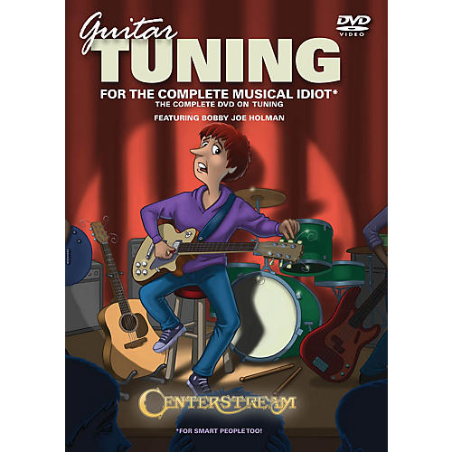 Centerstream Publishing Guitar Tuning for the Complete Musical Idiot Instructional/Guitar/DVD Series DVD by Ron Middlebrook thumbnail
