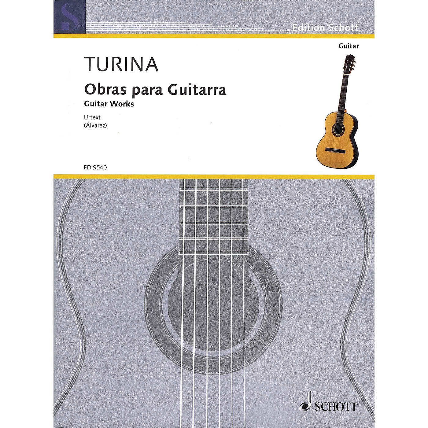 Schott Guitar Works (Obras Para Guitarra) Guitar Series Softcover thumbnail
