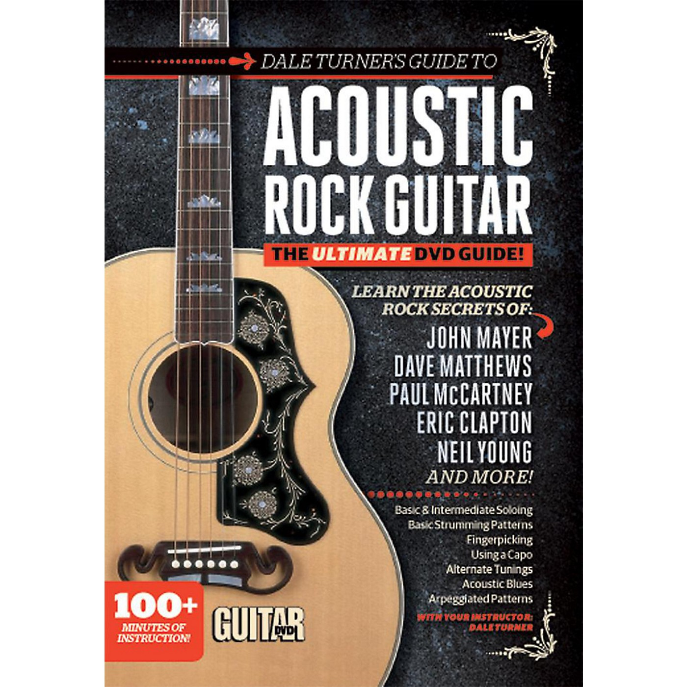Alfred Guitar World: Dale Turner's Guide to Acoustic Rock Guitar  DVD thumbnail