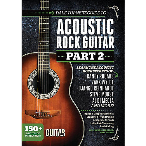 Alfred Guitar World Dale Turner's Guide to Acoustic Rock Guitar Part 2 DVD thumbnail