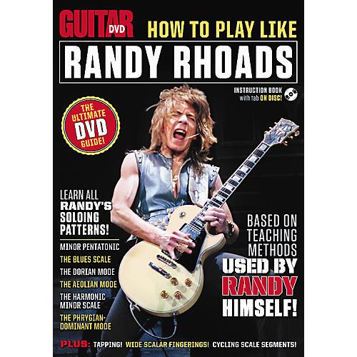 Alfred Guitar World How To Play Like Randy Rhoads DVD thumbnail